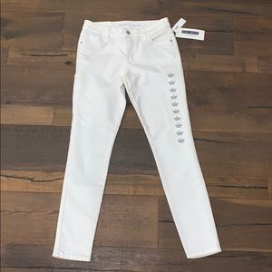 Old navy white skinny jeans NWT